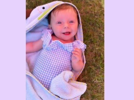 Five-month-old Lexi has been diagnosed with Fibrodysplasia Ossificans Progressiva