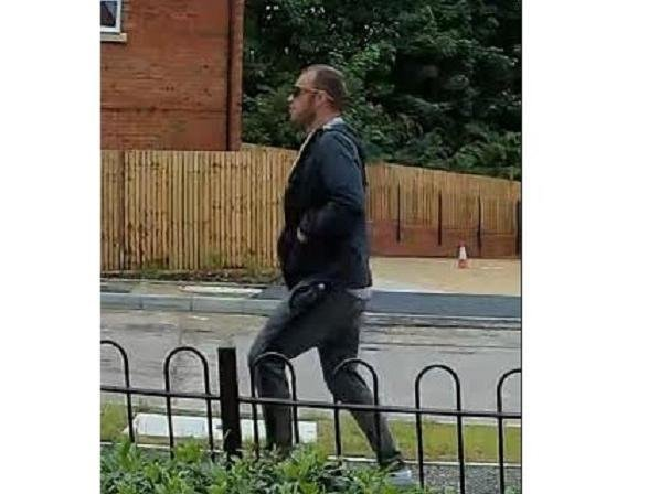Police have released a CCTV image of a man they would like to speak to