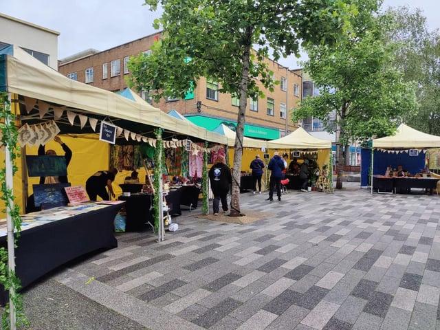 New pop-up market in Hemel Hempstead
