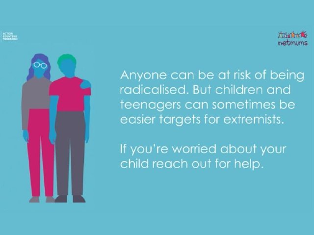 Counter Terrorism Policing and Netmums have teamed up for this campaign to help parents protect their children