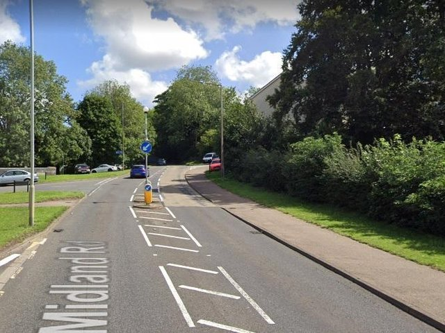 Stock image of Midland Road for illustrative purposes only (C) Google Maps