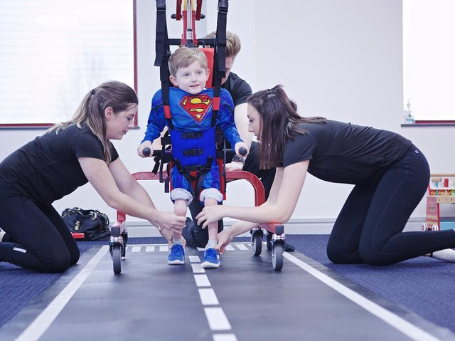 The Neurokinex Step Up Scheme brings a lifechanging set of six free rehab sessions to adults and children with a new spinal cord injury
