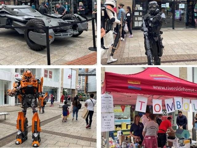 Superheroes and Villains landed in Hemel Hempstead at the weekend