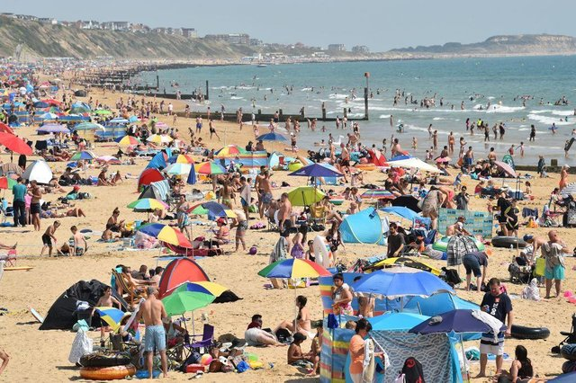 Today is forecast to be the hottest day of the year so far
